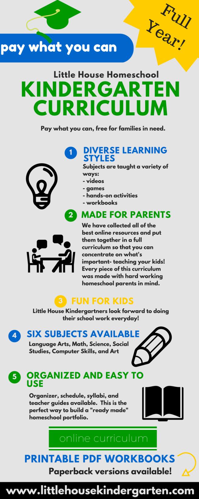 homeschooling preschoolers free curriculum house kindergarten 245